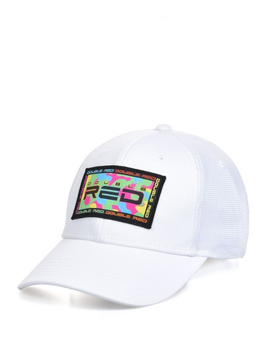 Neon TradeMark Collection Cap White