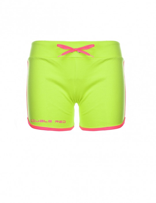 DOUBLE RED Women's Short Neon  Green