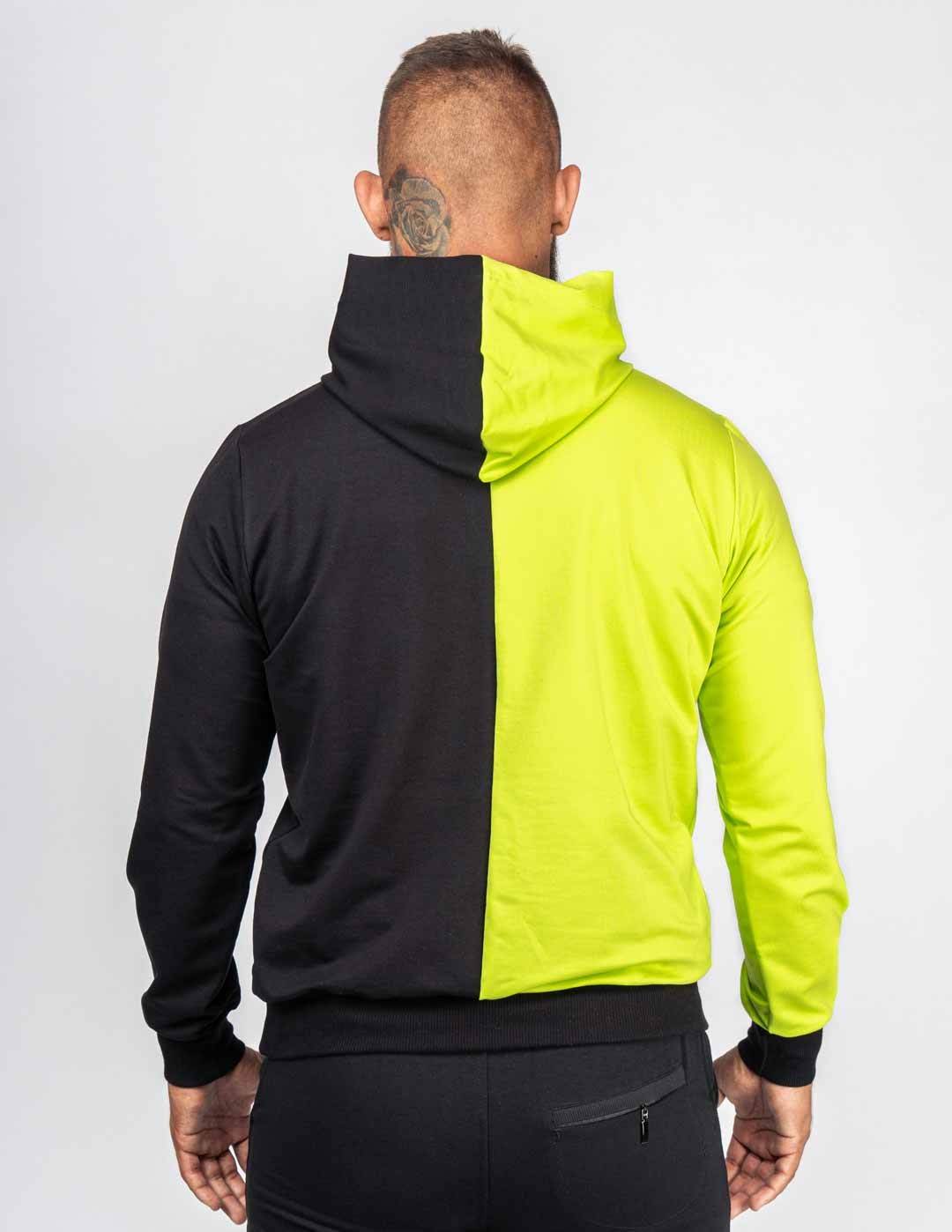 Hoodie Collection NEON STREETS Black/Yellow