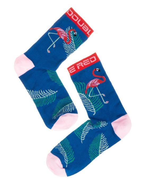 DOUBLE FUN Socks Art Deco Flamengo