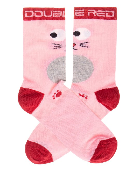 DOUBLE FUN Socks Pussy Cat