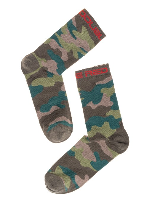 DOUBLE FUN Socks Camouflage