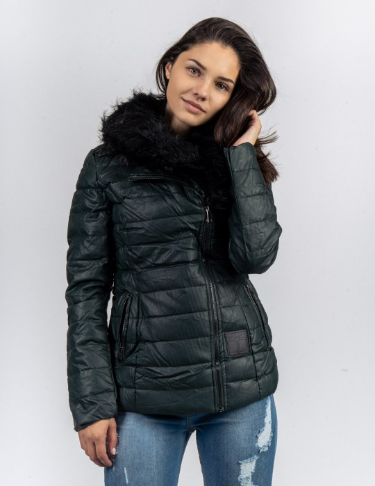 EXQUISIT SHORTCUT Jacket Dark Green