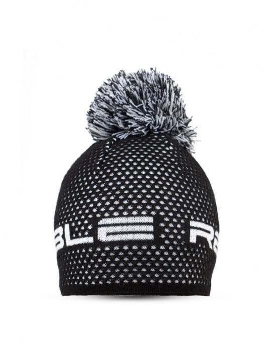 NISEKO Black & White Unisex Winter Cap