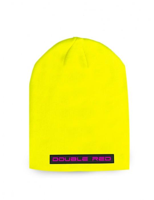 DNA RED BEANIE Neon Yellow