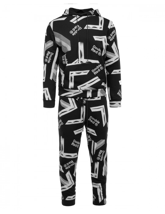GEOMETRIX Black Tracksuit