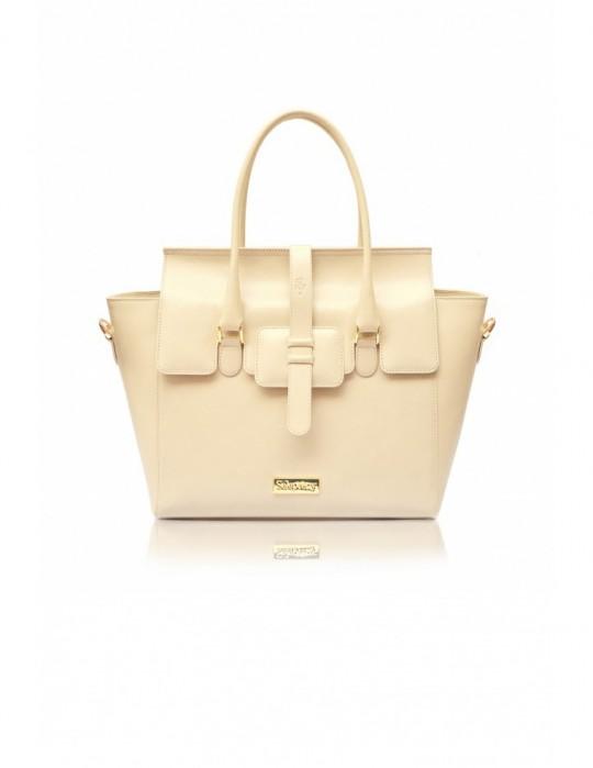 Luxus Damen Leder Handtasche  Selepceny Aura
