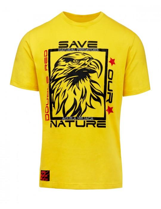 Natural Predators Eagle T-Shirt Yellow