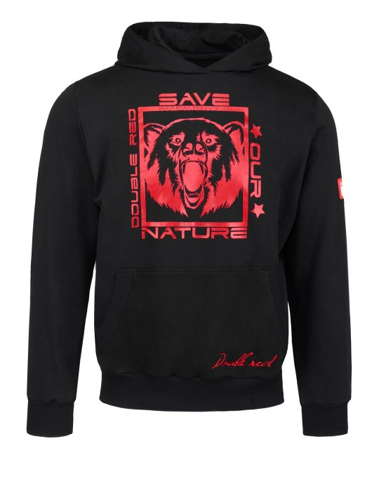 Natural Predators Bear Hoodie Black