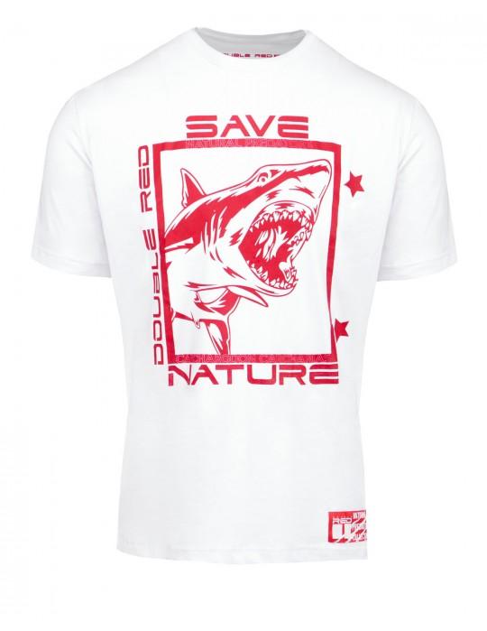 Natural Predators Shark T-Shirt White