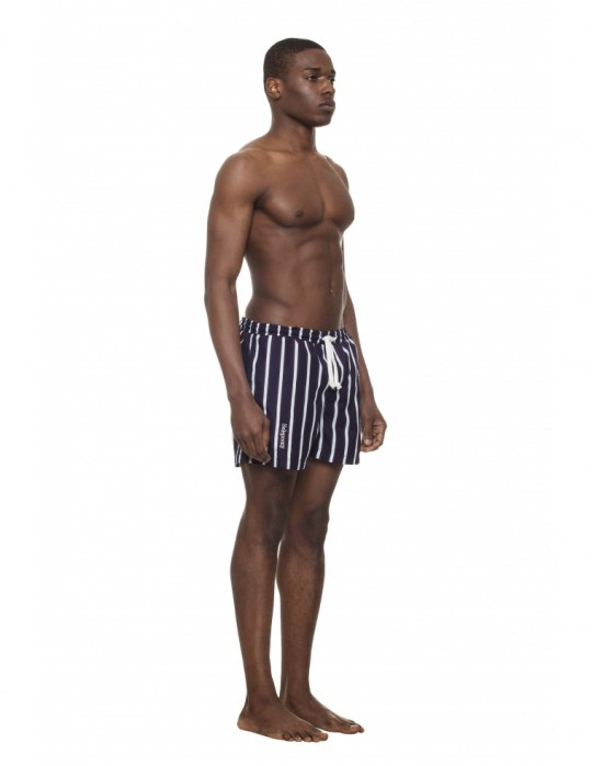 SELEPCENY STRIPED SWIM SHORTS
