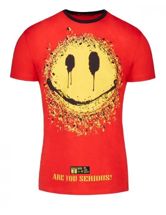 T-Shirt HIKARI KUNG-FU MASTER™ Fun edition Red