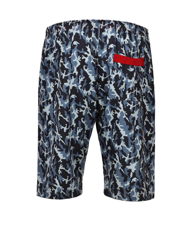 Shorts Sport Dark Blue Camo