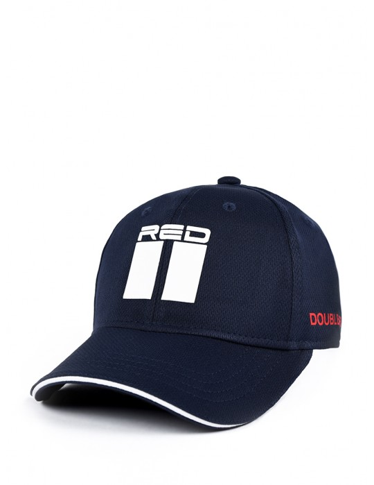 DOUBLE RED Cool Comfort Technology Golf 3D Cap Blue