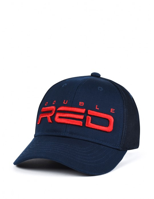 DOUBLE RED Airtech Mesh Cap Dark Blue