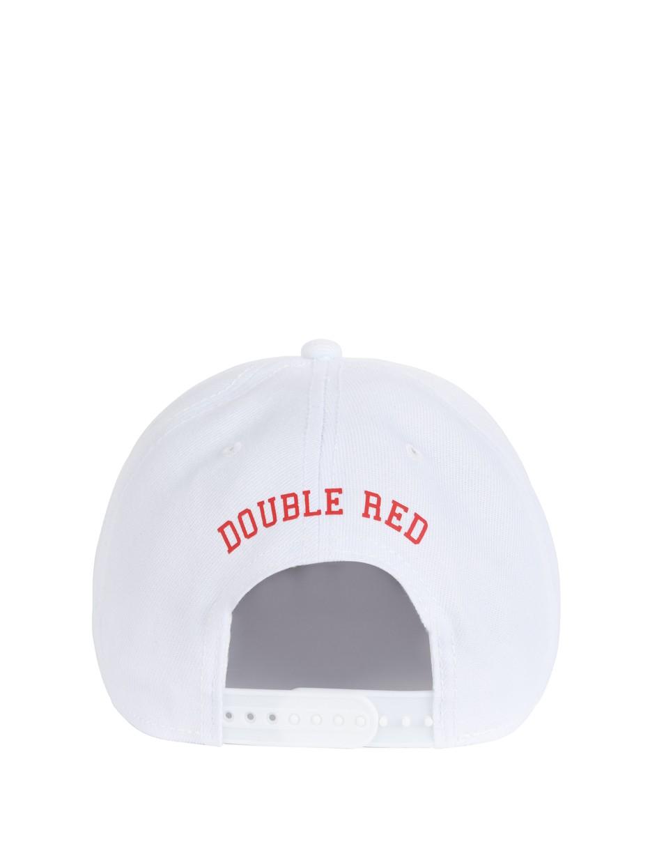 Snapback Cap UNIVERSITY OF RED White/Red
