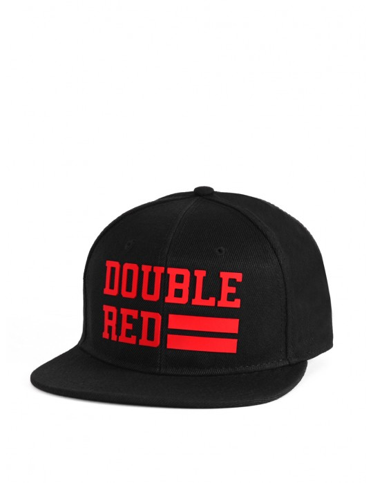 Snapback Kappe UNIVERSITY OF RED Black/Red