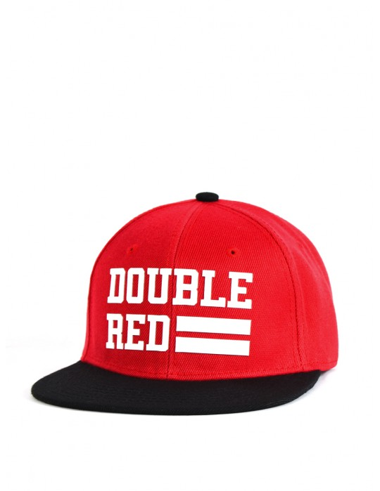 Snapback Kappe UNIVERSITY OF RED Red/Black/White