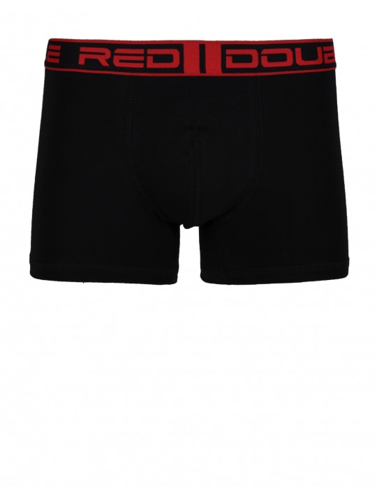 2RED BOXER Black