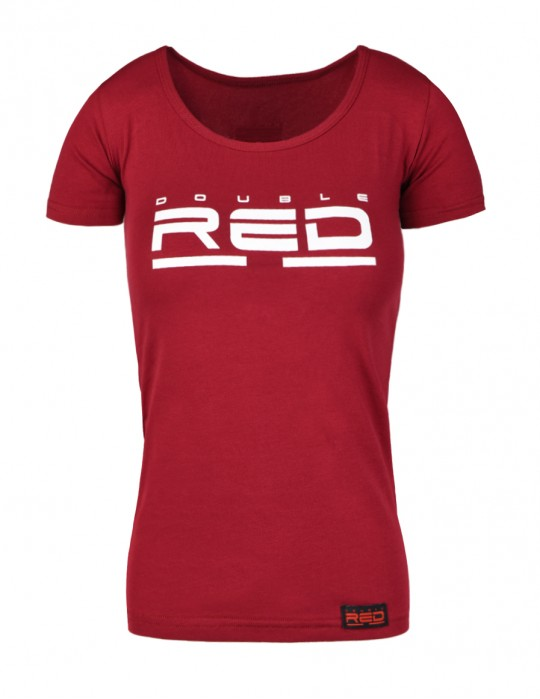 T-shirt ALL LOGO Basic Bordeaux