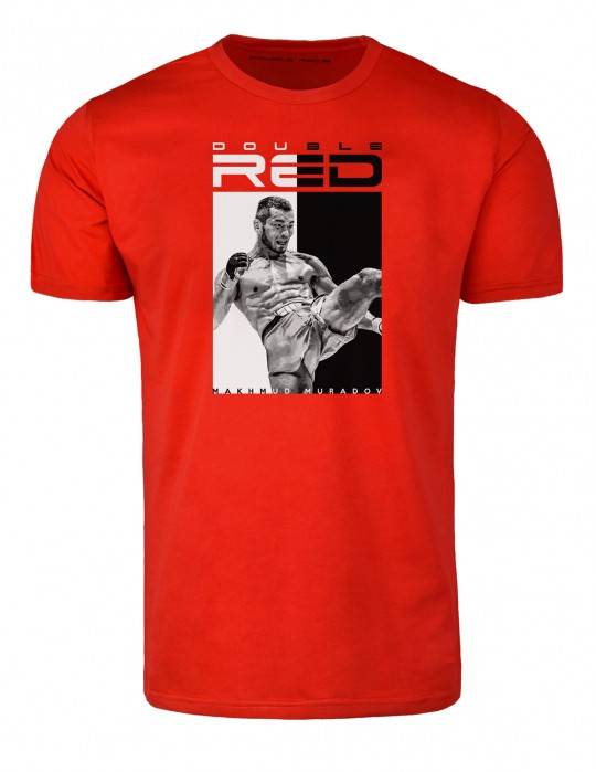 T-Shirt MMA RULES MAKHMUD MURADOV Red