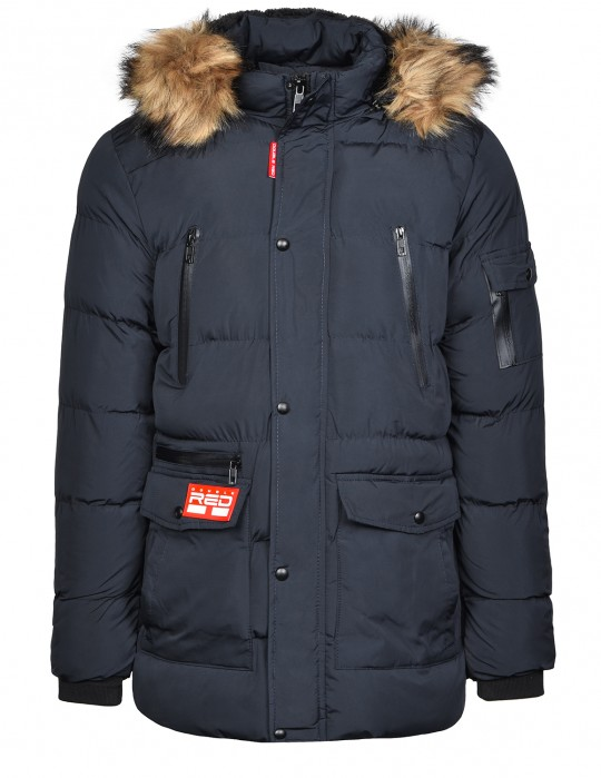 RED EXPLORER Parka Blue