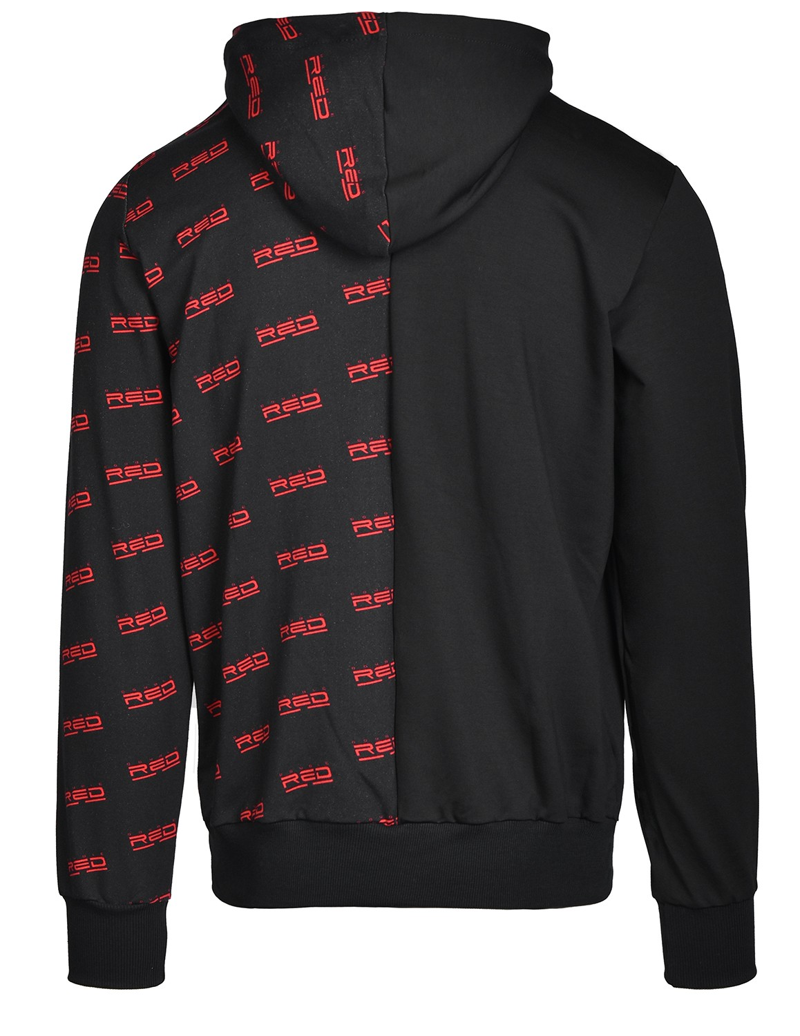 Hoodie DOUBLE FACE Black
