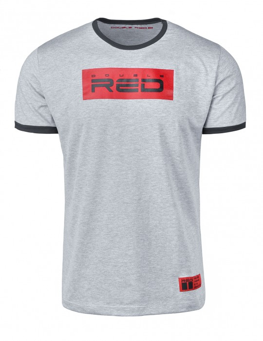 T-Shirt LOGO VISION Light Grey