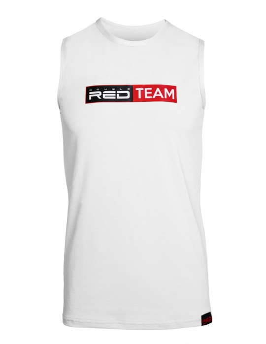 RED TEAM Tank Top White