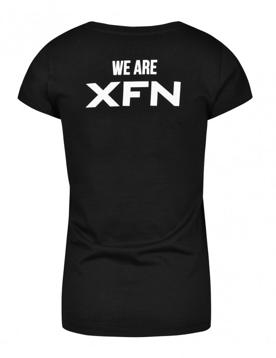 T-Shirt XFN & DOUBLE RED Cooperation Black