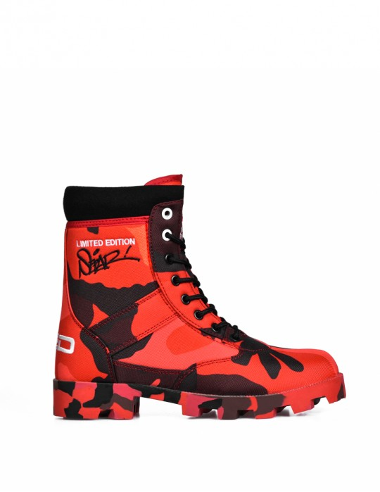 Boots RED HELL SEPAR Edition