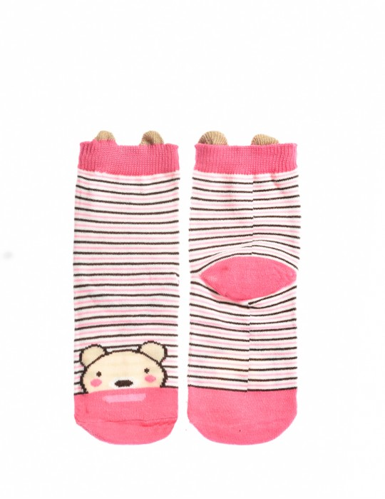 KIDS Fun Socks Pinky Hamster