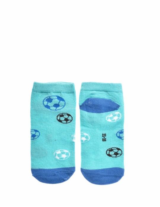 KID Fun Socks Foot-ball Blue