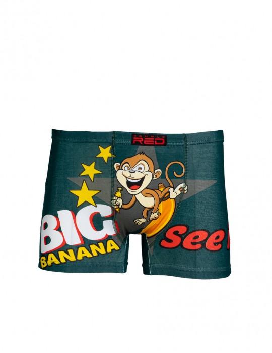 2FUN Boxers Big Banana Green