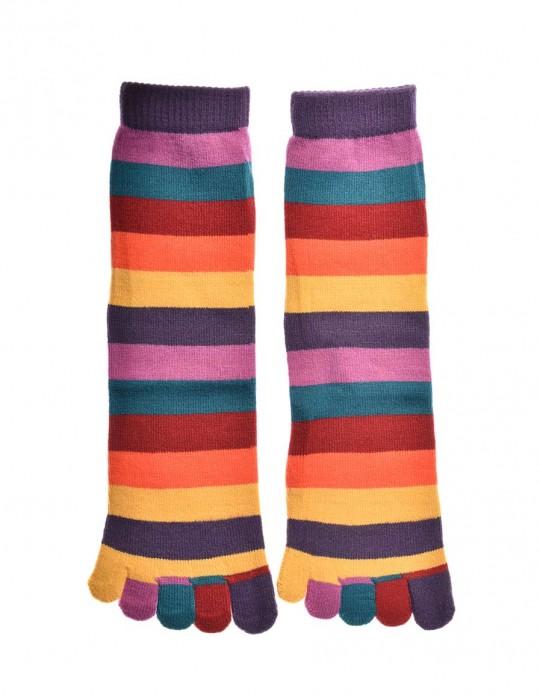 DOUBLE FUN Toe Socks Unicorn