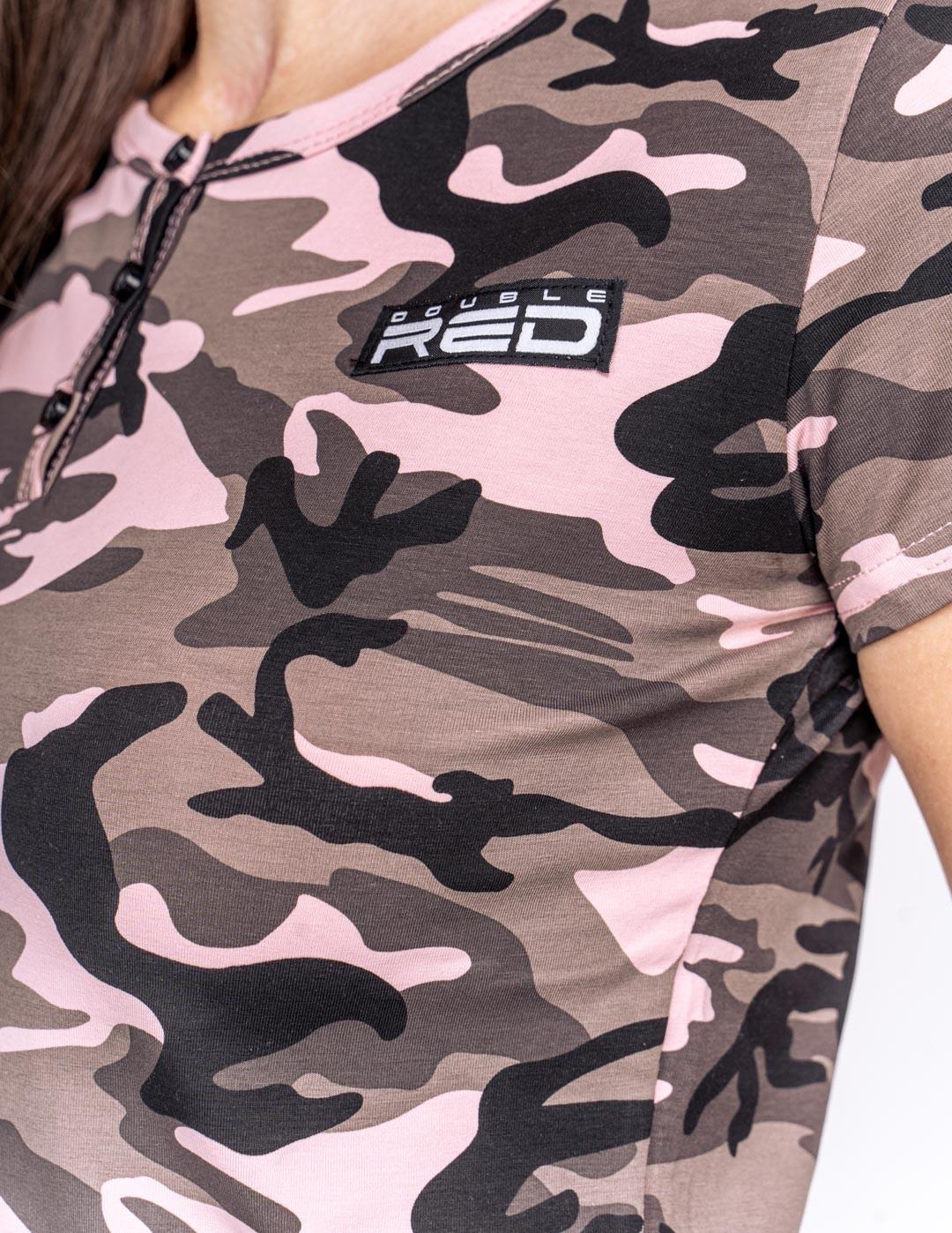 T-Shirt Camodresscode Pink