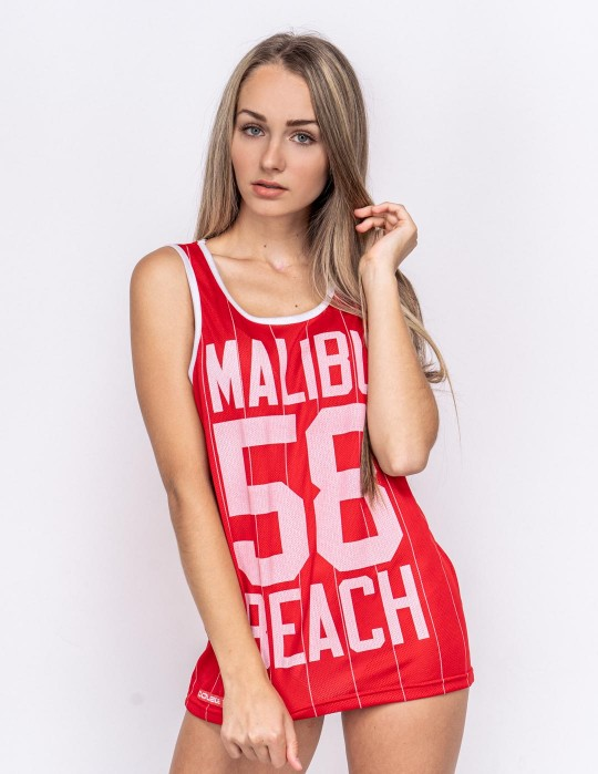 Womens Top Malibu 58 Red